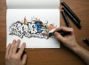 Graffiti colorbook